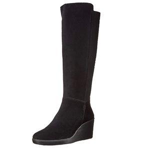 🌹Clarks Hazen Madison Suede Knee High Boots